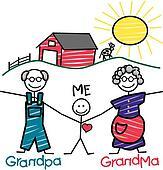 Grandparents Clipart Illustrations 824 Grandparents Clip