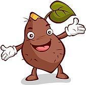 Pics For > Sweet Potato Clip Art
