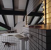 Stock foto condominiums op schuin bouwterrein in duitsland u12340292 zoek stock - Blootgestelde balken ...